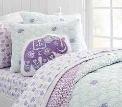 Stella Elephant Quilt | Pottery Barn Kids &  Adamdwight.com