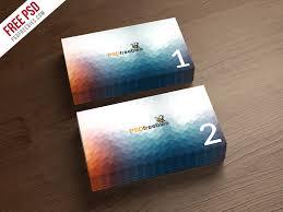 Business Card Mockup Template Free Psd Psdfreebiescom