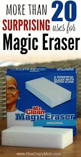 25 uses for mr clean magic erasers