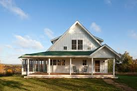 Unique Farmhouse for Mid Size Family w  Porch  HQ Plans  amp  Pictures    Exterior view of the property