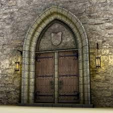 Medieval Doors Blender Door Medieval Castles 2701 by xevi.us