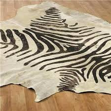 faux zebra rug fake hide australia animal canada