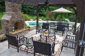 outdoor fireplaces fire pits pizza ovens image gallery