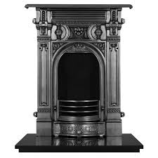 carron victorian small cast iron fireplace suite fireplaces are us