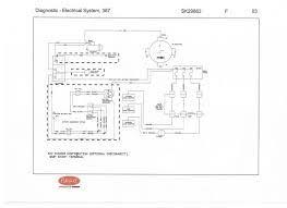 mack truck wiring diagram wiring diagram peterbilt truck tractors manuals pdf