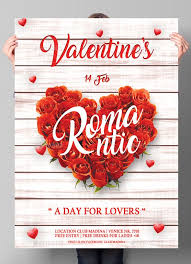 Valentines Flyers Pin By Bashooka Web Graphic Design On Valentines Flyer