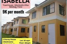 3 Bedroom Townhouse For Sale In Monticello Villas, Balabag, Iloilo