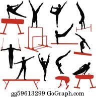 Bilderesultat for gymnastics clipart
