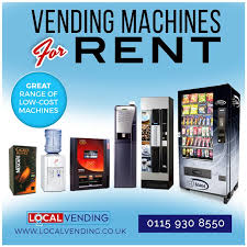 Leasing Vending Machines Magnificent Vending Machines For Rent In Nottingham And Derby