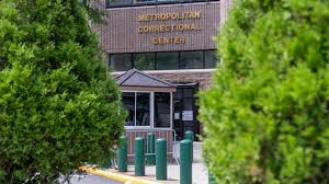 Image result for Images of jail where Jeffrey Epstein died