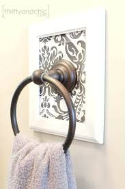 hand towel holder for wall. Wall Hand Towel Holder Mount For Bathroom L