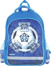 Рюкзак <b>Пифагор</b> 227947 Футбол (синий), цена 1 350 руб. купить в ...