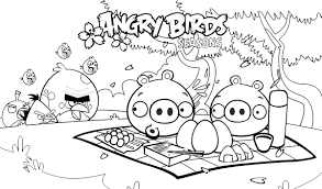 Angry Bird Coloring Pages Printable Coloring Pages Free Download For