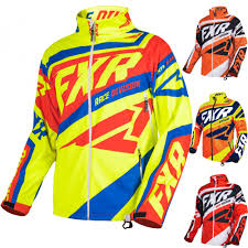 Racing Cold Cross Race Replica Mens Snowmobile Jackets