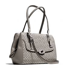 Lyst - Coach Madison Small Madeline Eastwest Satchel in Op Art ...
