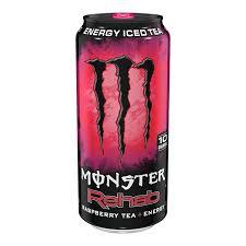 monster energy can png. Plain Energy Monster Energy Rehab Raspberry 155oz 458ml Intended Can Png E