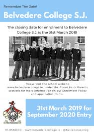 Admissions / Application Forms - Belvedere College S.j.