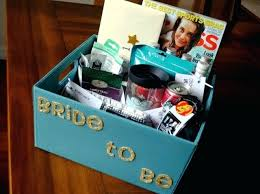 gifts for bride bachelorette party gift basket do brides give at