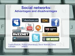 social networks advantages and disadvantages