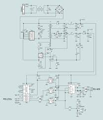 standard rs 485 schematic diagram ofrs232 rs485