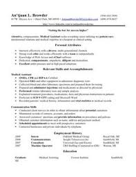 Medical Assistant Resume Skills #002 - http://topresume.info/2014