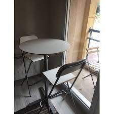 Ensemble Table Haute 2 Chaises Hautes - Achat et vente - Rakuten