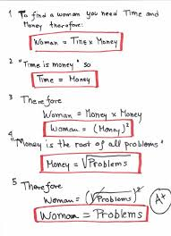 math proves women are trouble