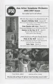 Ann Arbor Civic Theatre Program The Tempest March 15 2007 Ann.