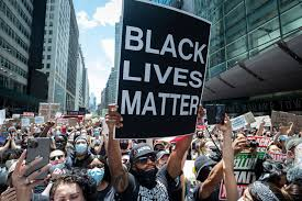 A picture of a Black Lives Matter protest.
