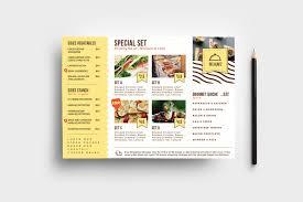 Catering Service Flyer Template V2 Psd Ai Vector Brandpacks