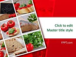 Powerpoint Templates Food Free Food Powerpoint Templates