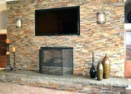 astounding resurface a brick fireplace refacing