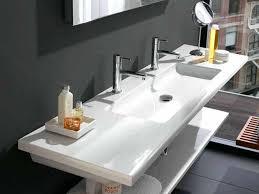 double faucet trough bathroom sink sinks trough bathroom sink with two  faucets double faucet vessel sink