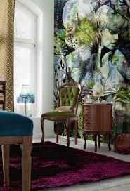 Praxis Kunst En Kleur Op De Muur Dit Behang Geeft Een Chique En