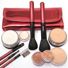 dark natural makeup iq natural large mineral makeup kit 12pc dark