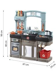 Play Kitchen With Lights And Sounds Step2 Best Chefs Kitchen Playset Kids Play Kitchen With 25