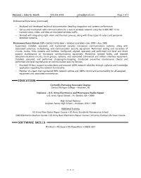 Senior Field Service Technician Resume Samples Velvet Jobs Mechanic