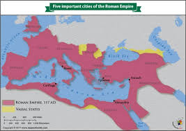 What Were The Five Important Cities Of The Roman Empire