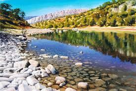hyperrealistic watercolor landscape paintings