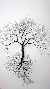 pared de alambre arte rbol de la vida por wireartbycatherine m s on 3d wall art life tree with custom made wire wall art tree of life wall decoration wire art