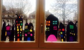 Fensterdekoration Zur Weihnachtszeit 1 Klasse Kunst