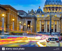 Cité Du Vatican à Rome Italie Banque Dimages Photo Stock