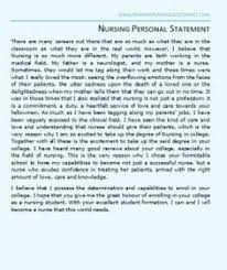 nurse anesthesia letter of recommendation example a great nursing personal statement example for nursing school