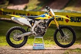 2018 suzuki motocross. modren suzuki suzuki obviously means serious business with its allnew 2018 rmz450 by  setting a price to undercut rivals we rode the bike this week and full test  and suzuki motocross