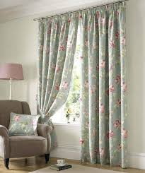 ... Delightful Kitchen Decoration With Various Kitchen Curtain Pattern :  Entrancing Window Treatment Decoration Using Light Blue ...
