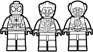 Free Printable Coloring Pages Of The Amazing Spider Man Lego
