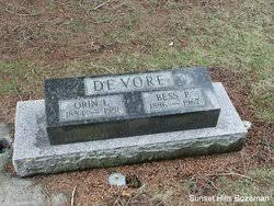 Bessie Pearl Harper DeVore (1886-1967) - Find A Grave Memorial