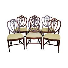 Drexel New Travis Court Shield Back Dining Chairs Set Of - Shield back dining room chairs