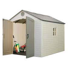 Small Picture Lifetime Products Lifetime Storage Shed 8 Ftx 10 Ft 6405