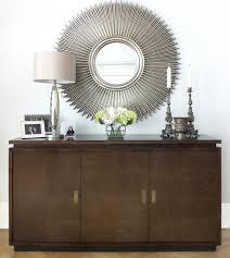 Credenza & Mirror modern-living-room